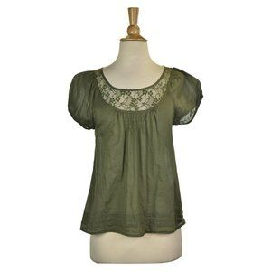 Old Navy Blouses SM Green
